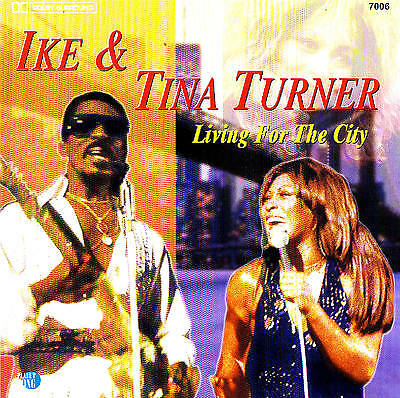 "IKE & TINA TURNER ""Living For The City"" 24 Tracks CD NEW & ORIG. BOX"