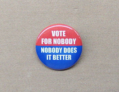 """CREEP button 1.25/"""" Committee to Re-Elect the President Nixon Watergate 72 vote"""