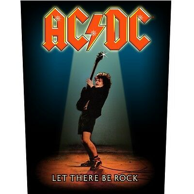 AC/DC Let There Be Rock Back Patch Official New
