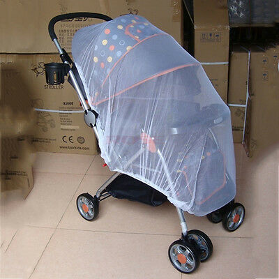 Infants Baby Stroller Pushchair Anti-Insect Mosquito Net Safe Mesh LO
