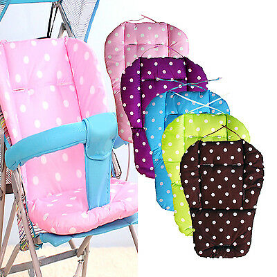 Best Baby Thick Pushchair Mat Dot Liner Cover Stroller Buggy Pram Seat Cushion
