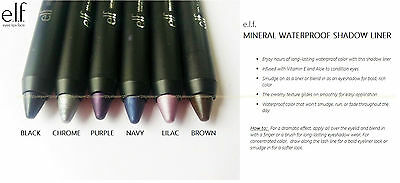e.l.f. MINERAL WATERPROOF SHADOW LINER elf eyeshadow Pick Your Shade