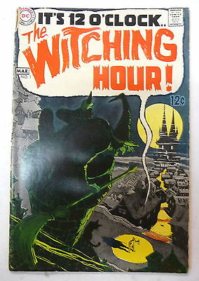 the witching hour 1 dc comics 1969 alex toth