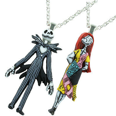 TFB - NIGHTMARE BEFORE CHRISTMAS NECKLACE Character Quirky Retro Cool Emo Punk
