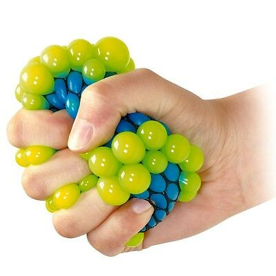 Squishy Mesh Ball Sensory Toy - Fiddle Fidget Stress Sensory Autism ADHD