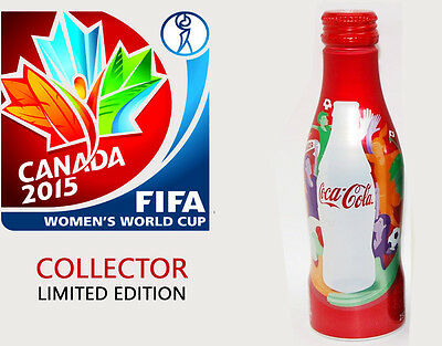 """"""" FIFA WORLD CUP"""" Coca Cola, unopened, red bottle, LIMITED COLLECTORS EDITIONS"""