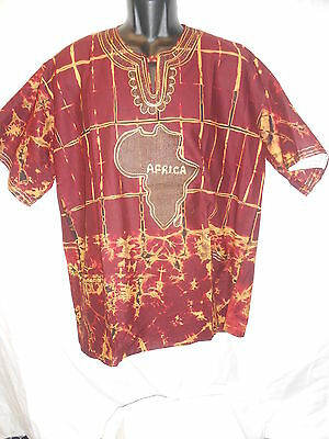 Handmade Traditional Africa Shirt Ltd Edition One Off Design Roots & Culture 20