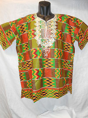 Handmade Traditional Africa Dashiki Shirt Ltd Edition One Off Roots & Culture 23