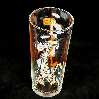 Vintage 1973 Cool Cat Glass Pepsi Collector Series Glassware Warner Brothers