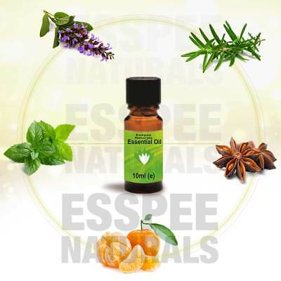 ESSENTIAL OIL 10ml Pure and Natural for Aromatherapy Home Fragrance Diffusers
