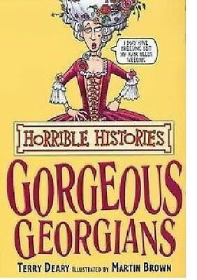 TERRY DEARY __ Horrible Histories __ Hermoso Georgians __ NUEVO