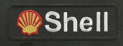"Shell Gas Company  4 1/4  "" Black   Patch"