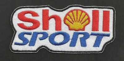 """Shell Sport  Gas Company  3 1/2   """"  Patch"""