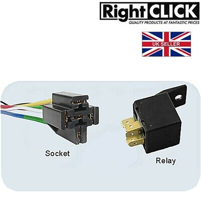 ROBINSON RELAY SWITCH 12 V 30 AMP 4 PIN TERMINAL WITH BRACKET ED005