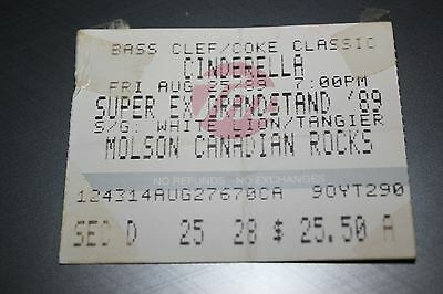 1989 Cinderella with White Lion and Tangier  - Ottawa Canada