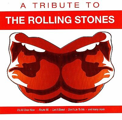 "A Homenaje to ""THE ROLLING STONES"" 15 TRACKS CD FOX MUSIC NUEVO Y EMB. orig."
