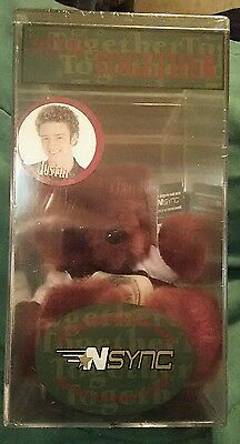 "Nsync Together Bear Keeper Limited Edition Rare Bear ""Justin"" #266 REVISED 3/1"