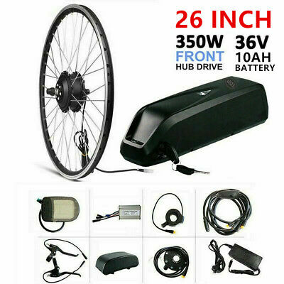 48V 15.4Ah Lithium + 1000W Electric Bike Bicycle Conversion Kit eBike Hub Motor