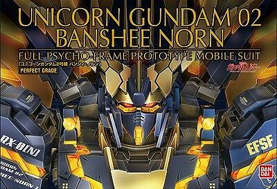 New 2016 Pg Bandai Unicorn Gundam Rx-0 Banshee Norn Perfect Grade