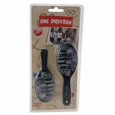 One Direction Hair Brush and Mirror Set Black
