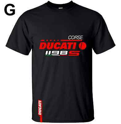 Ducati 1198 S Sp Corse Motorcycle Bike Style Inspired Tee T Shirt