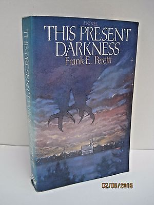 This Present Darkness & Piercing The Darkness by Frank E. Peretti, Lot of 2