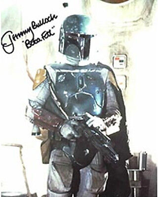 Jeremy Bulloch as Star Wars Boba Fett Autographed Picture Photo Card #1
