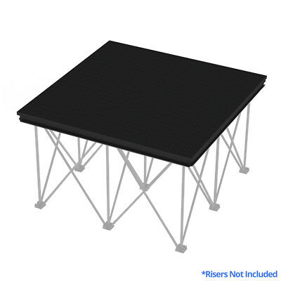 Panther 1mx1m Aluminium Heavy Duty Performance Event Platform Staging Stage Deck