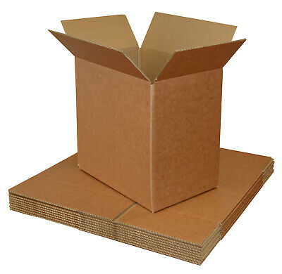 Small Cardboard Boxes Single Wall Brown for Posting Mailing Moving