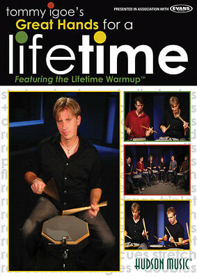 Tommy Igoe Great Hands For A Lifetime Drum Dvd New