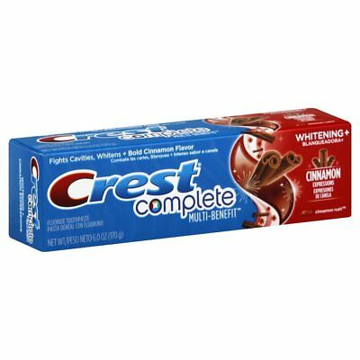 Crest Whitening Expressions Cinnamon Rush Zimt Zahncreme 6oz (5 EUR pro 100 g)