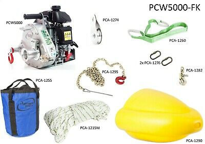 Portable Winch PCW5000-FK Forestry Assortment Kit
