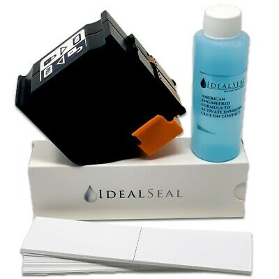 Red Ink Cartridge,PPS ISINK 34 for Neopost IS series+meter tapes & 4oz Solution