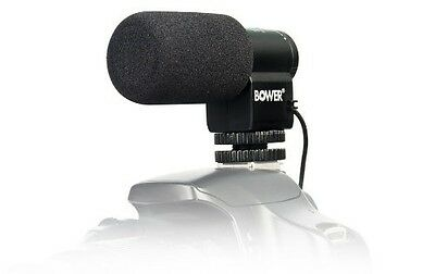 Bower MIC150 Electret Condenser Microphone for DSLR - NEW - 636980704982