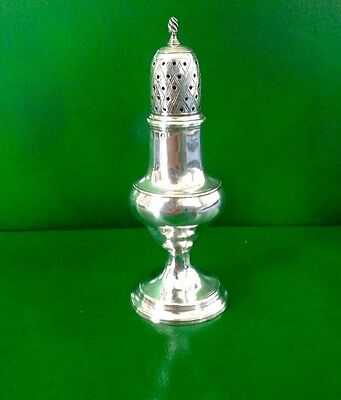 Stephen Adams Georgian 1792 Antique English Sterling Silver Sugar Caster Shaker