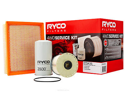 Ryco 4x4 Filter Service Kit RSK6 fits Holden Colorado 3.0 TD (RC),3.0 TD 4x4 ...