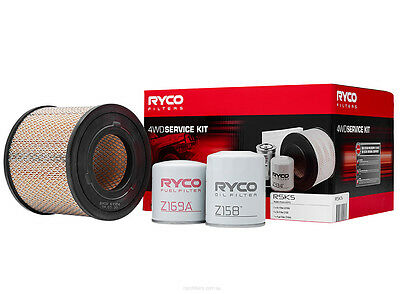 Ryco 4x4 Filter Service Kit RSK5 fits Holden Rodeo RA 3.0 TD (TFR77),RA 3.0 T...