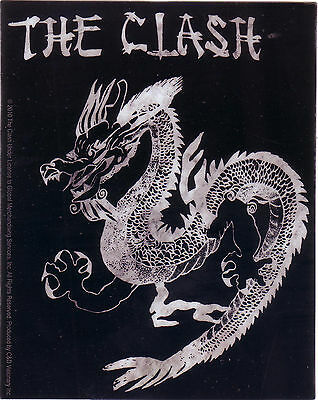 "Clash ""Dragon"" Licensed sticker a very rare find"