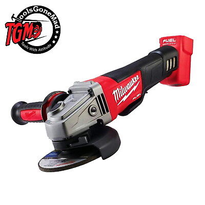 """Milwaukee M18Cag125Xpd-0 125Mm 5"""" Fuel Brushless Angle Grinder Aus Stock Skin"""