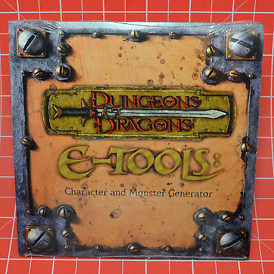 Dungeons & Dragons e-Tools CD / WTC12006 D6D