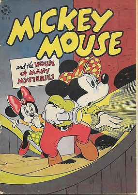 Walt Disney Mickey Mouse Four Color Comic Book #116, Dell 1946 VERY GOOD-