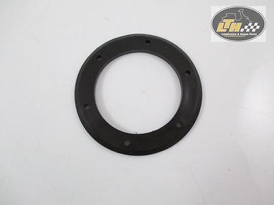 """Gasket Horn (d) 4mm, black, ø 54/80 mm, 6 Holes, with rounded Border """"PIA"""