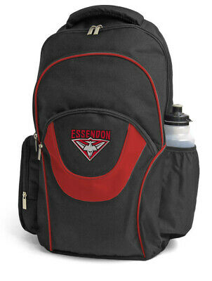 Essendon Bombers AFL Footy Fusion School Backpack Bag
