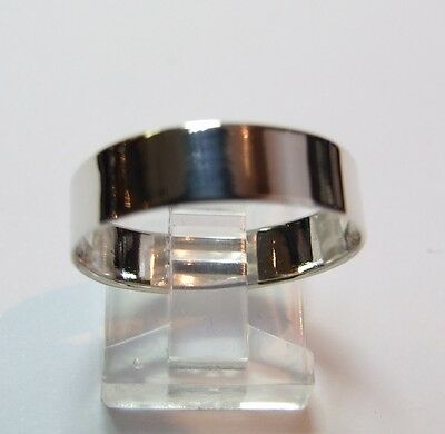 925 Sterling Silver Size S Ring, 5mm Wedding Band Style, Location, Ennis