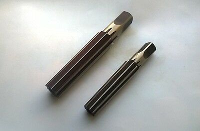 MT3 No.3 + MT4 No.4 Morse Taper Finishing Reamers Set 2 pcs USSR