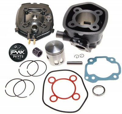 70cc Big Bore Cylinder Barrel Kit Head for 2T Minarelli Horizontal LC Engine