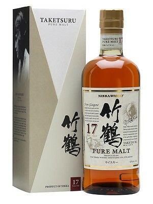 Nikka Taketsuru 17 Year Old Japanese Single Malt Whisky 700ml