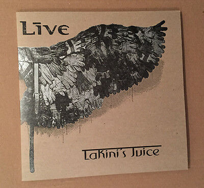 "Live 'Lakini's Juice' 10"" promo single. Clear/green vinyl. Numbered. MINT!"