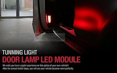 Tunning Light Door Courtesy Lamp LED Module LH RH 4P for KIA 2017 Sportage QL