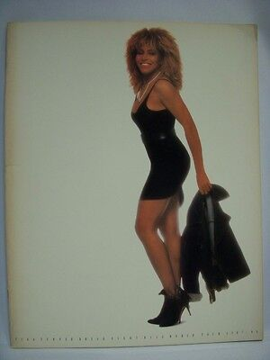 TINA TURNER 1988 Japan Tour Concert Program Book